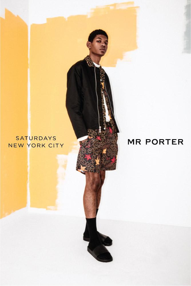 Saturdays NYC & Mr. Porter • Fall 2017